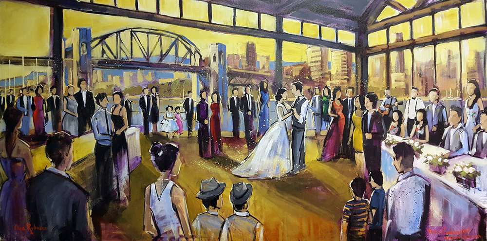 impressions_live_art_wedding_painting_bridges_restaurant