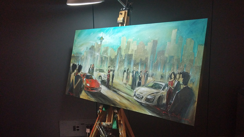 impressions live art event entertainment, auto show gala 2016