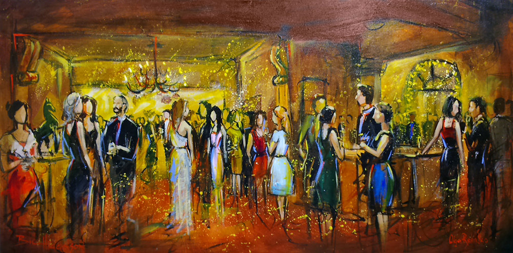 unique wedding entertainment - live painting vancouver, impressions live art -2