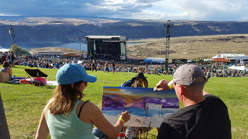 dave matthews band live at the gorge ants marching