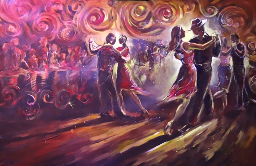 tango+milonga+live+event+painting+firebird+live+art