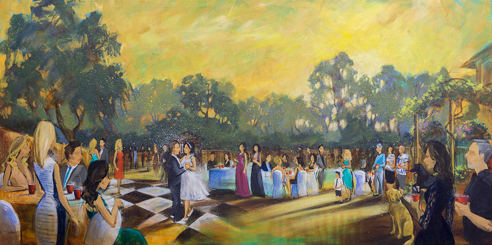 Impressions Live Art - Wedding painting - tyler and julie - langley backyard wedding.jpg