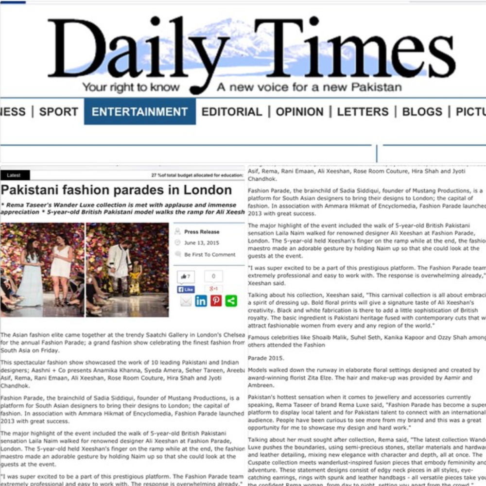 Saatchi Gallery Daily Times.PNG