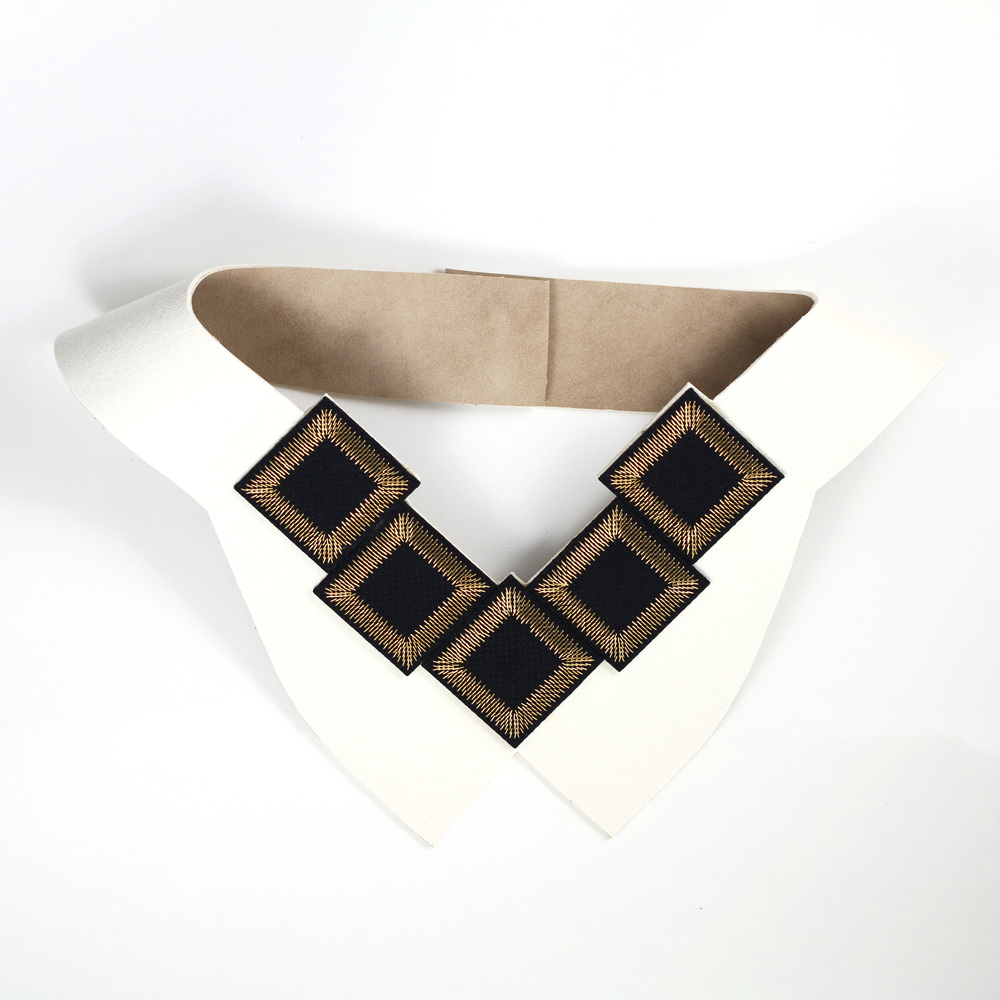 Kosmos-Collection-Isabel-Wong-Black-Silk-White-Suede-Gold-Metal-Bib-Necklace-Butterfly.JPG