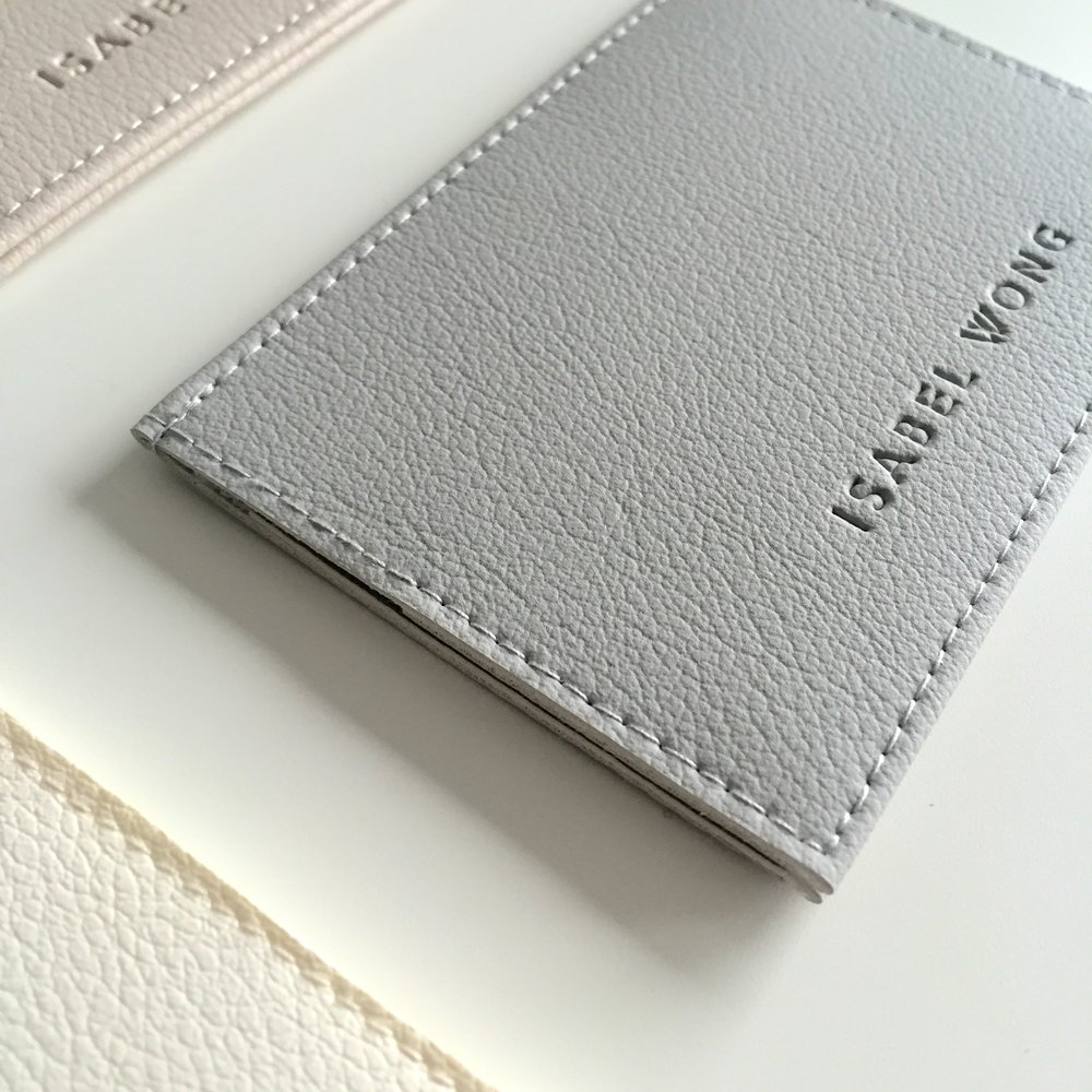 Grey Card Holder