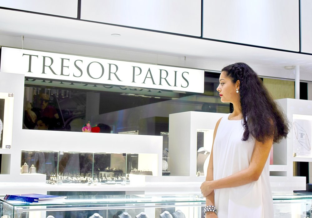 Tresor Paris Memorie Dress Diamond Event Isabel Wong Hatton Garden London.JPG