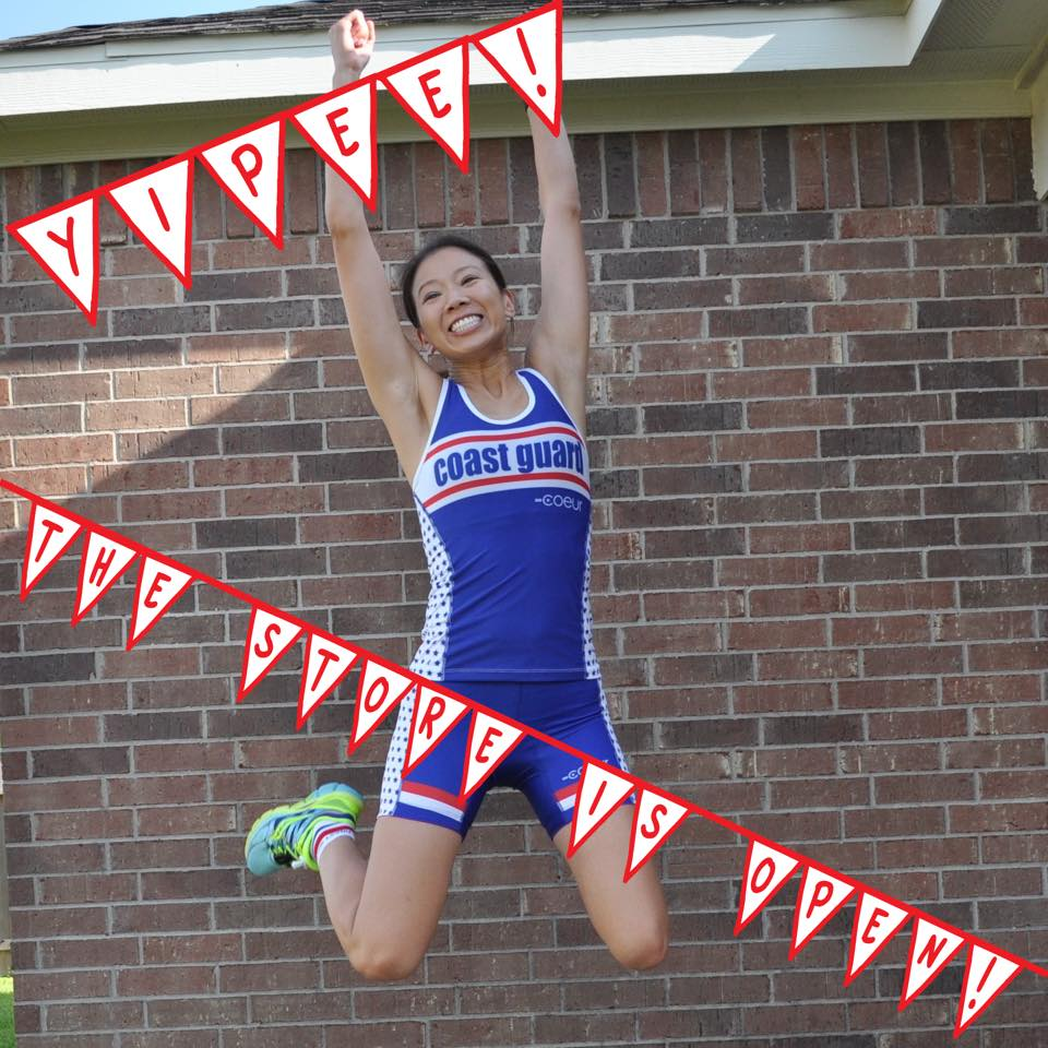 Jumping for joy when opening Honor and Pride Sports! www.honorandpridesports.com
