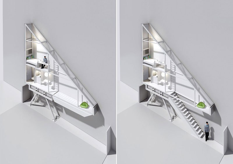 The Keret House. Courtesy of KeretHouse.com