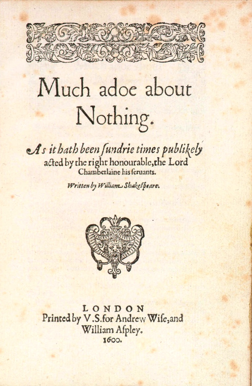 an analysis of the role of beatrice in much ado about nothing by william shakespeare Much ado about nothing (arden shakespeare third series) and the acerbic beatrice and chauvinistic benedick william shakespeare edited by.