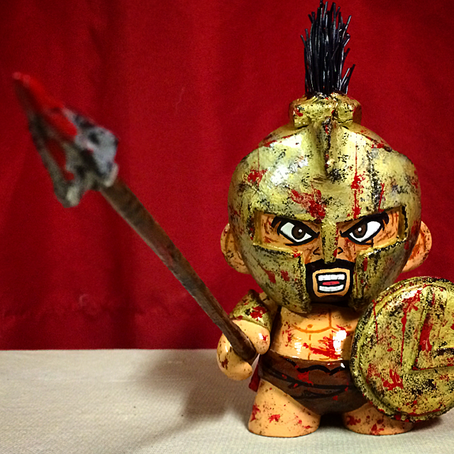 Hand Painted/Sculpted Vinyl Toy