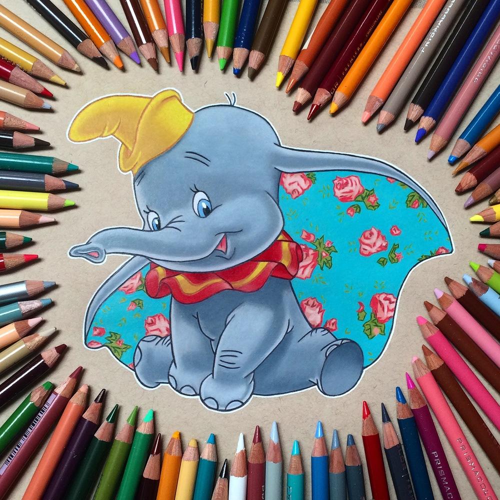 Color Pencil Illustration