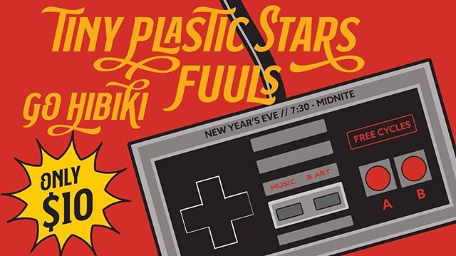 Check out NYE at Free Cycles! Music by @tinyplasticstars, @fuuls_ruuls, and @go_hibiki! The event will be from 7:30 to 12:30. Also, earlier in the day (4pm to 7pm) there will be a First Night Iron Pour workshop. Register now for the unique opportunity to create your own art with materials often limited to industrial scale. You can learn more or register now with @artsmissoula at artsmissoula.org #community #nye #firstnight #firstnightmissoula #missoulaarts #missoulamusic #livemusic #ironpour #freecycles #whatagoodtime