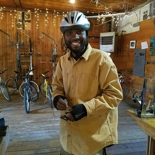 Thanks to @theirc in Missoula for some recent photos of their clients. We love helping new community members access affordable, sustainable, and active transportation!
