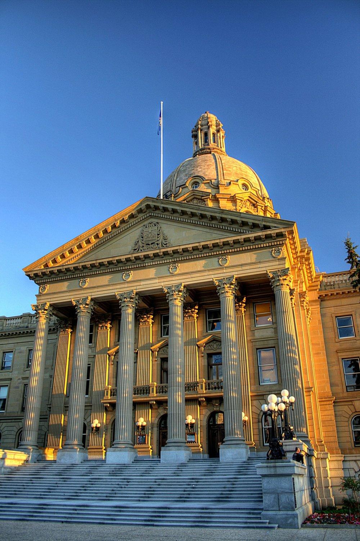 The Alberta Legislative Assembly.