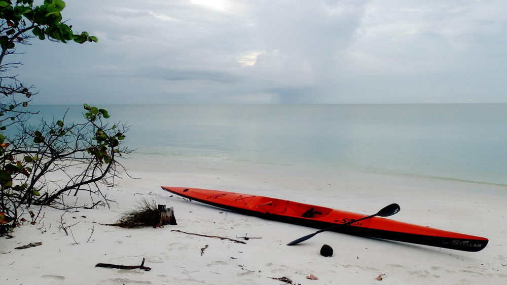 red stellar Ski on beach.jpg
