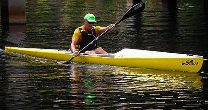 Beautiful day down here in the Rainbow River Race, with our friend Mark Nye paddling in his SEI! 🌞🚣‍♂️ • • • #CentralFloridaPaddleAttic #PaddleOrlando #Stellar  #Surfskis #Kayaks #OrlandoKayaking #KayakDealers