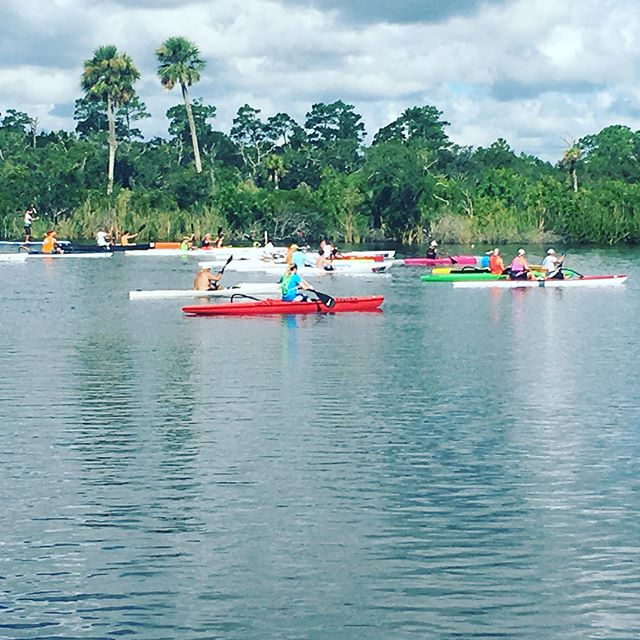 It was a great day for the FCPA St. Sebastian River Race Saturday! A lot of good paddlers came (37). Thanks to Lisa & JC Malick for hosting this FCPA race.