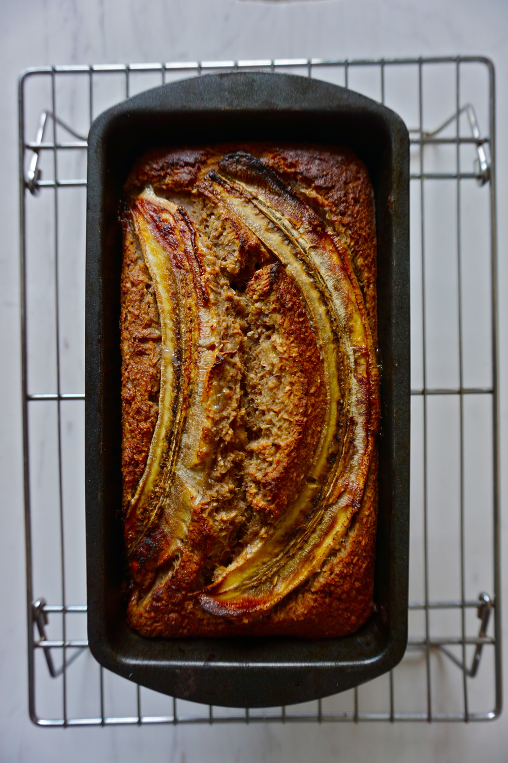 Chair Spiced Baked Banana Bread | Sproutly Stories