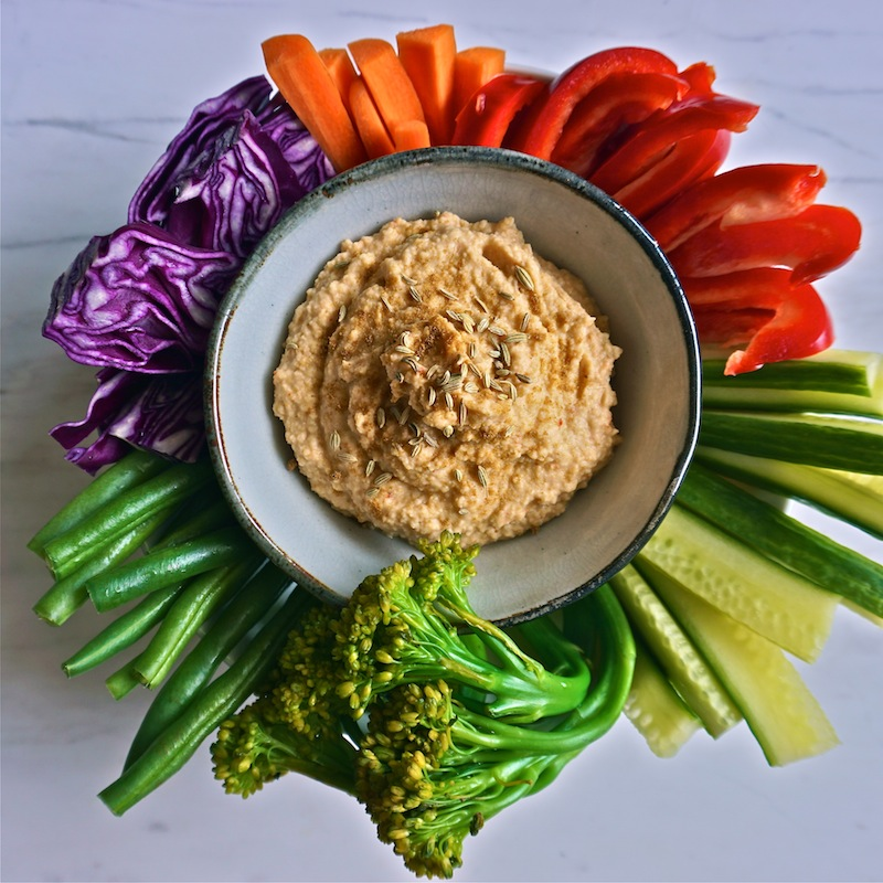 Oil-Free Hummus Recipe | Healthy Dips and Spreads | Sproutly Stories