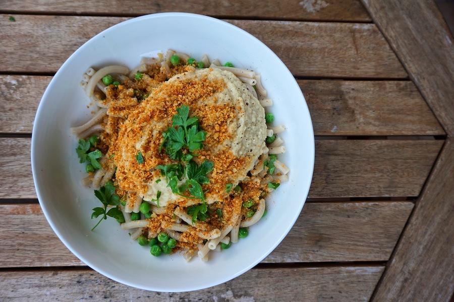 Creamy Cauliflower Alfredo With Gluten Free Pasta | Vegan | Sproutly Stories