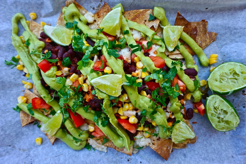 Epic Vegan Nachos with Homemade Tortilla Chips | Savoury Recipes | Sproutly Stories
