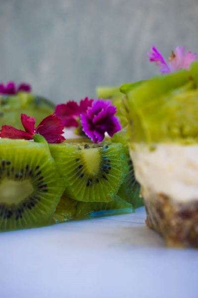 Raw Kiwi Ice Cream Cake | Sweet Recipes | Sproutly Stories