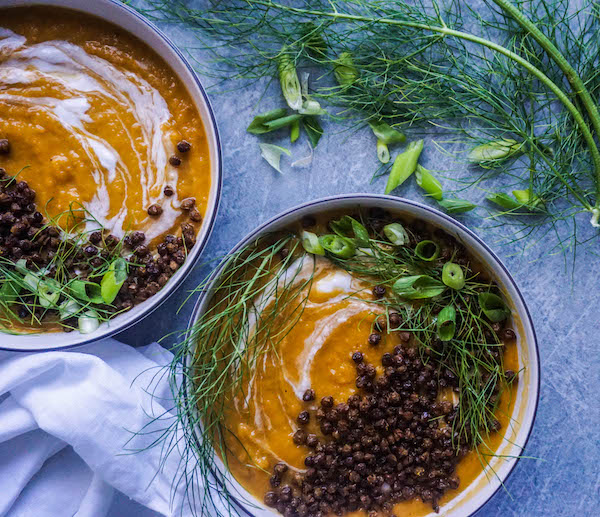 How would we brave winter nights without steamy soups?