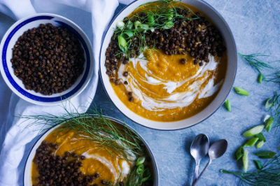 Roasted Fennel and Butternut Squash Soup