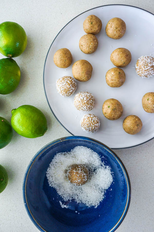 Key Lime Pie Protein Balls | Healthy Sweet Treats | Sproutly Stories