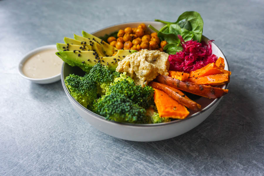 Nourishing Roasted Chickpea Buddha Bowl with Tahini Dressing | Savoury Recipes | Sproutly Stories