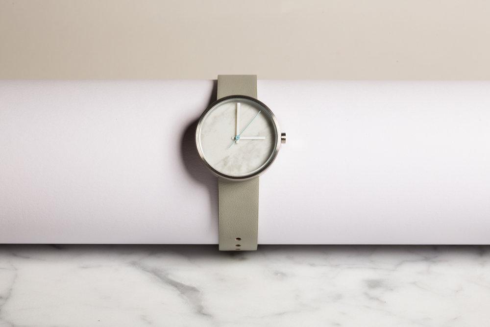 Marble Watch - Carrara Daniel Emma x Aark $219