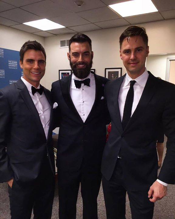 Colin Egglesfield, Nick Karnaze and Todd Courtney
