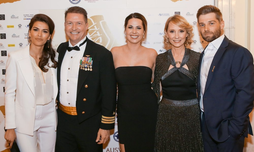 "The Cast of NBC's ""The Brave"" With Guests      From left to right, The cast of NBC's ""The Brave"" Sofia Pernas, Anne Heche and Mike Vogul pose for pictures with guests at the 3rd Annual Vettys. Pernas, Heche and Vogel each presented a Vetty during the awards. The 3rd Annual Veterans Awards was held January 20, 2017 at the Mayflower Hotel in Washington, D.C."