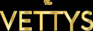 Vettys logo Gold.png