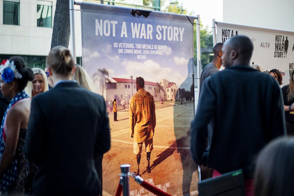 Not A War Story World Premiere