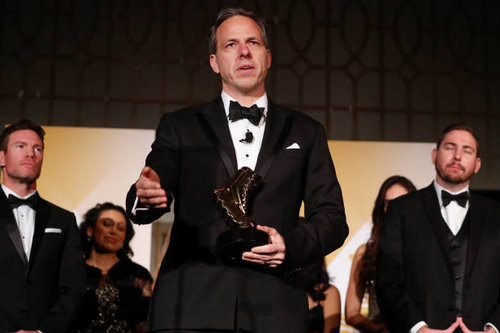 Jake Tapper wins a Vetty in Veterans Choice Category   The 3rd Annual Veterans Awards was a sensational evening among veterans, military families and supporters. Jake Tapper won in the Veterans Choice Category. Jake also hosted the 3rd Annual Veterans Awards.
