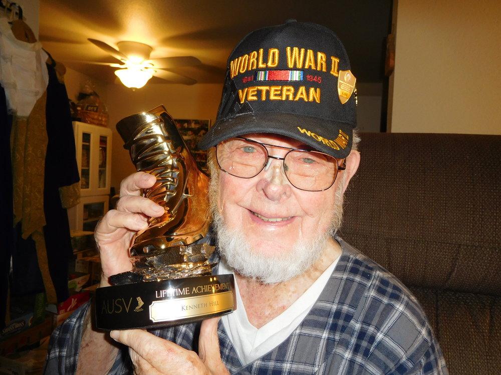 Kenneth Hill won the lifetime achievement VETTY -