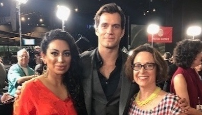 AUSV at the Mission Impossible: Fallout Premiere   AUSV president, Assal Ravandi   Actor, Henry Cavill   Blue Star Families CEO, Kathy Roth-Douquet at the D.C. premiere of Mission Impossible; Fallout Premiere. 30 tickets were offered to AUSV members to attend the red carpet premiere along with Tom Cruise and the cast.