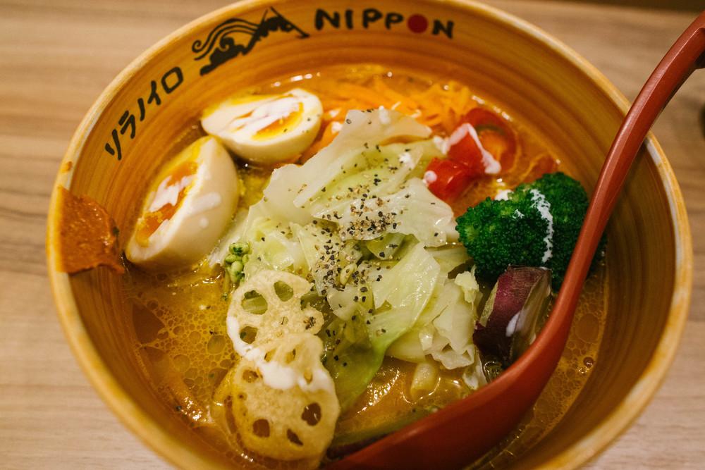 Veggie Soba ( ¥1100)