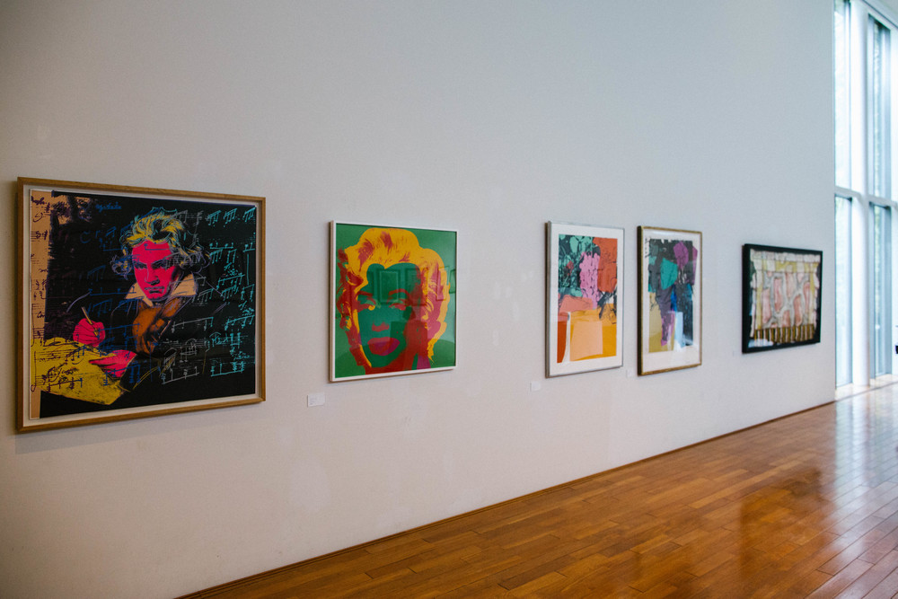 """Now there's too much Warhol hanging off the wall"""