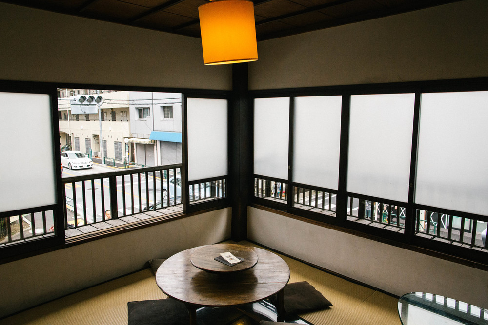 Second floor with tatami vibes