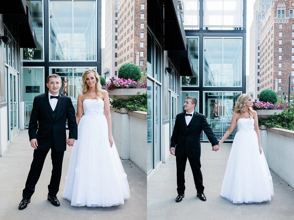 Bride and Groom Photography by Kansas City photographer, Merry Ohler