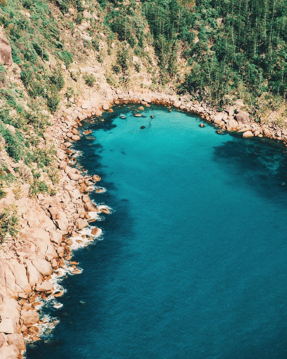 Rugged coastline of Magnetic Island