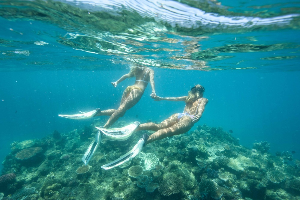 Pretending to be mermaids with my own Gypsea