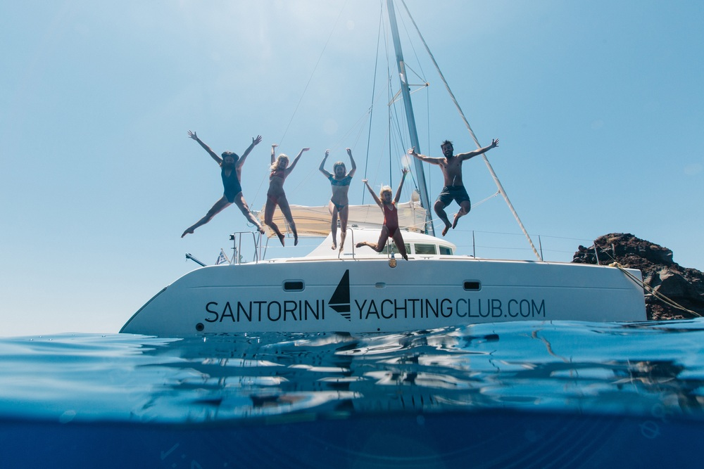 Santorini sailing: Part 1