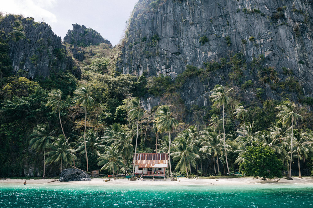 Imagine having a little shack on your own private island...