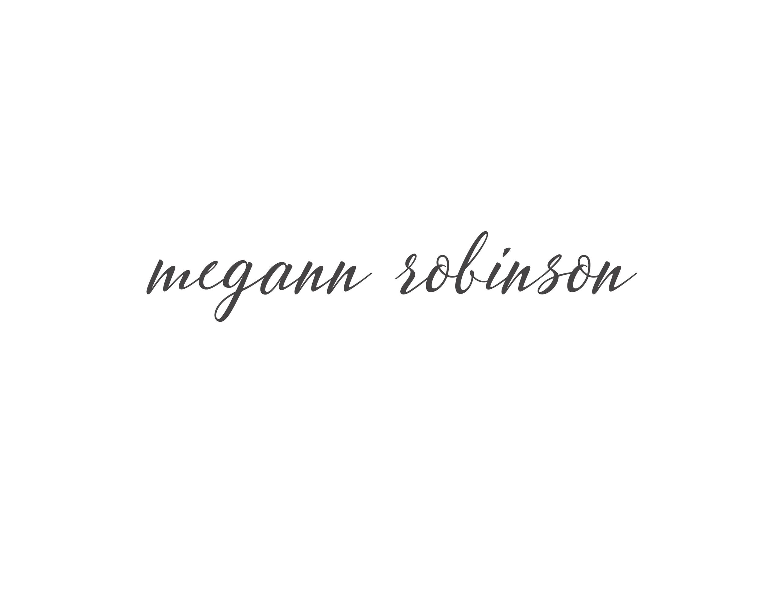 Megann Robinson Photography