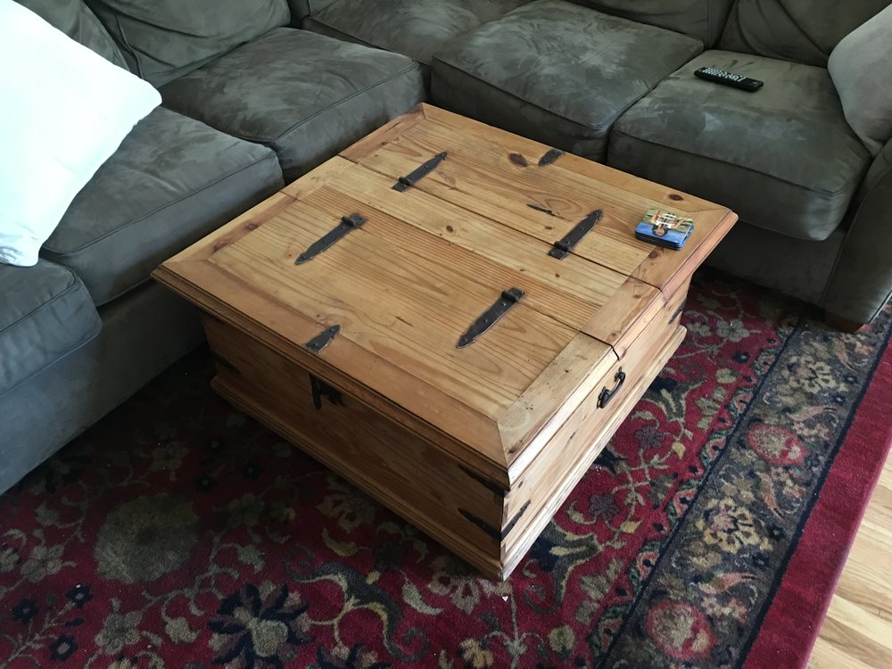 A Box - that I built from restored wood