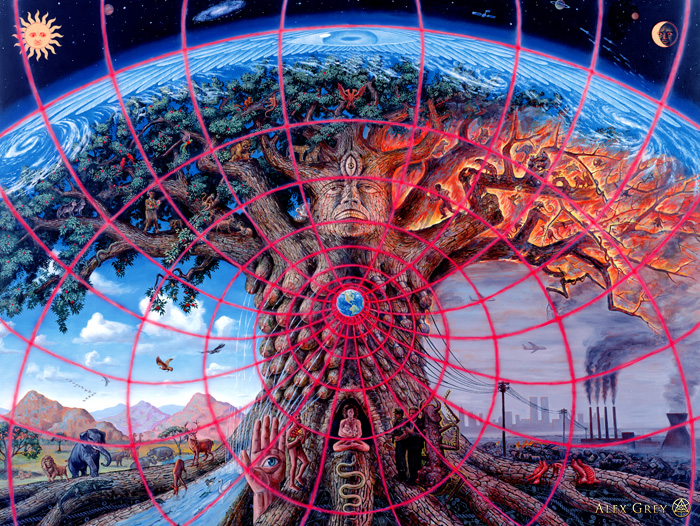 ALEX GREY | GAIA