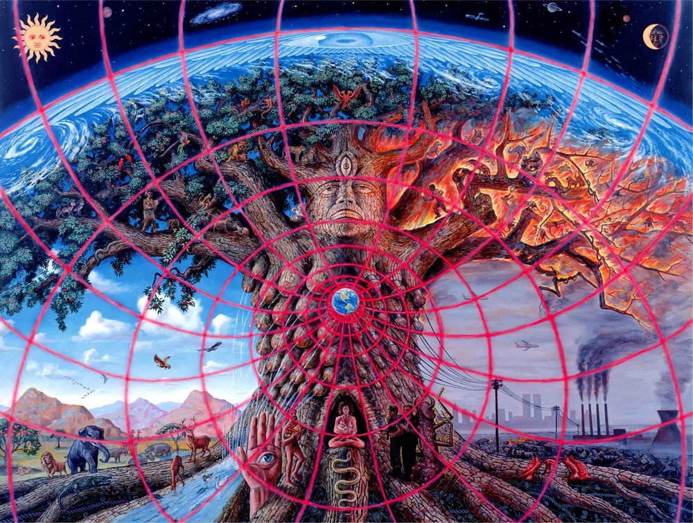 GAIA, a representation of the current world situation by artist Alex Grey